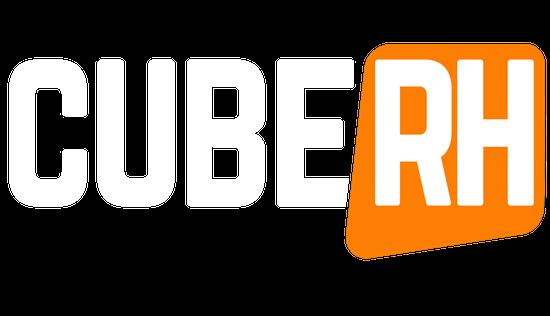 Logo Cube Rh Blanc Détouré